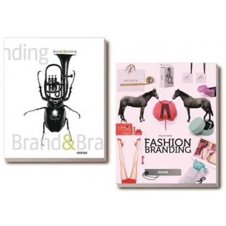 "PACK ""BRAND & BRANDING + FASHION BRANDING"""