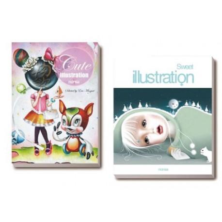 PACK Cute Illustration + Sweet Illustration