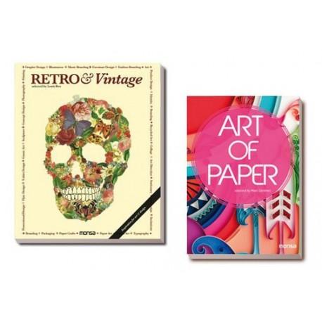 PACK RETRO & VINTAGE + ART OF PAPER