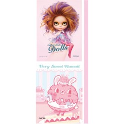 PACK SUPER CUTE DOLLS + VERY SWEET KAWAII