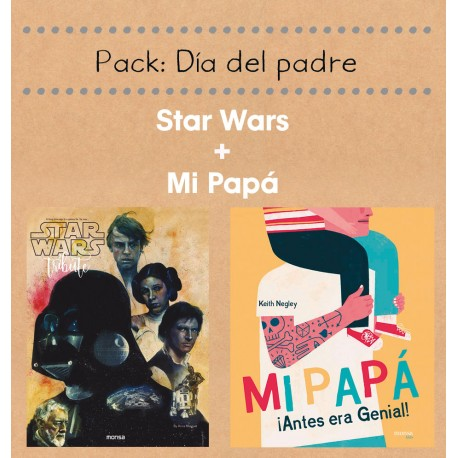 PACK MI PAPÁ + STAR WARS