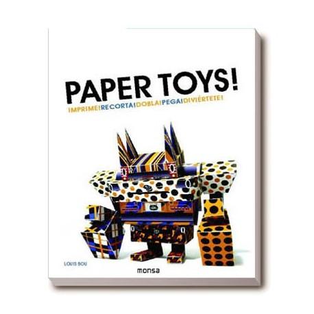 PAPER TOYS!. IMPRIME CORTA Y PEGA!