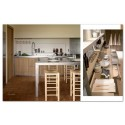 KITCHEN & MATERIALS wood laminate inox
