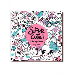 SUPER CUTE! COLORING BOOK