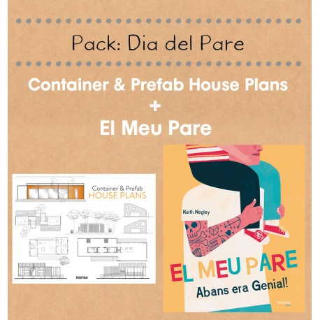 PACK CONTAINER & PREFAB HOUSE PLANS + EL MEU PARE